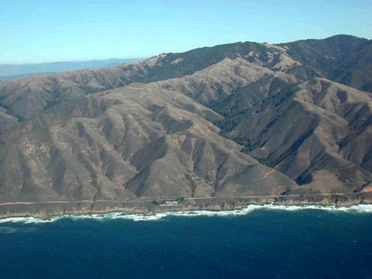 big sur mountains
