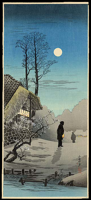 Shotei - Village In The Moonlight